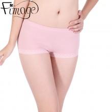 Fimage有致102103舒适型女士棉平角裤