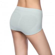 Fimage有致102021中腰收腹包臀棉三角裤 女士棉质内裤 纯色