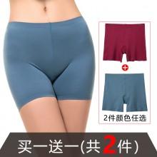 fimage有致102064两条装无痕防走光安全裤蕾丝三分裤