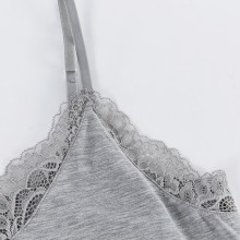 fimage有致106022莫代尔蕾丝吊带